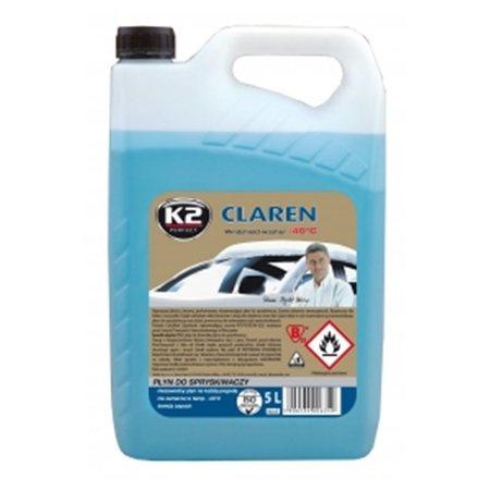 AKTYWNE PIANY - Płyn do spryskiwacza (zimowy) K2 CLAREN -40°C 5 L (1)