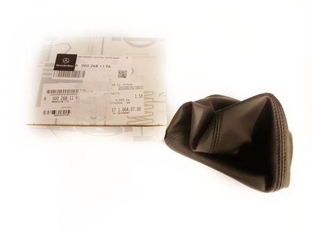 ŁOŻYSKO SKOŚNE - Gear lever cover / bellows (english version) !!! - Mercedes-Benz SPRINTER W906 (1)
