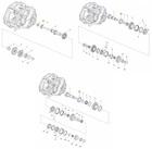 BODY - Gearbox bearing set M20 M32 C542 C544 25mm + sealants - ALFA ROMEO / FIAT / OPEL / SAAB (2)